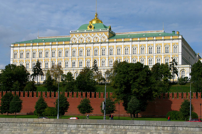 Il_Gran_Palazzo_del_Cremlino_a_Mosca