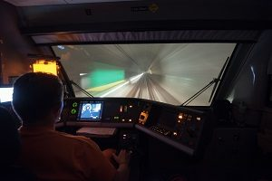 Inbetriebnahme erste Testfahrt Gotthard-Basistunnel, Erstfeld, Z